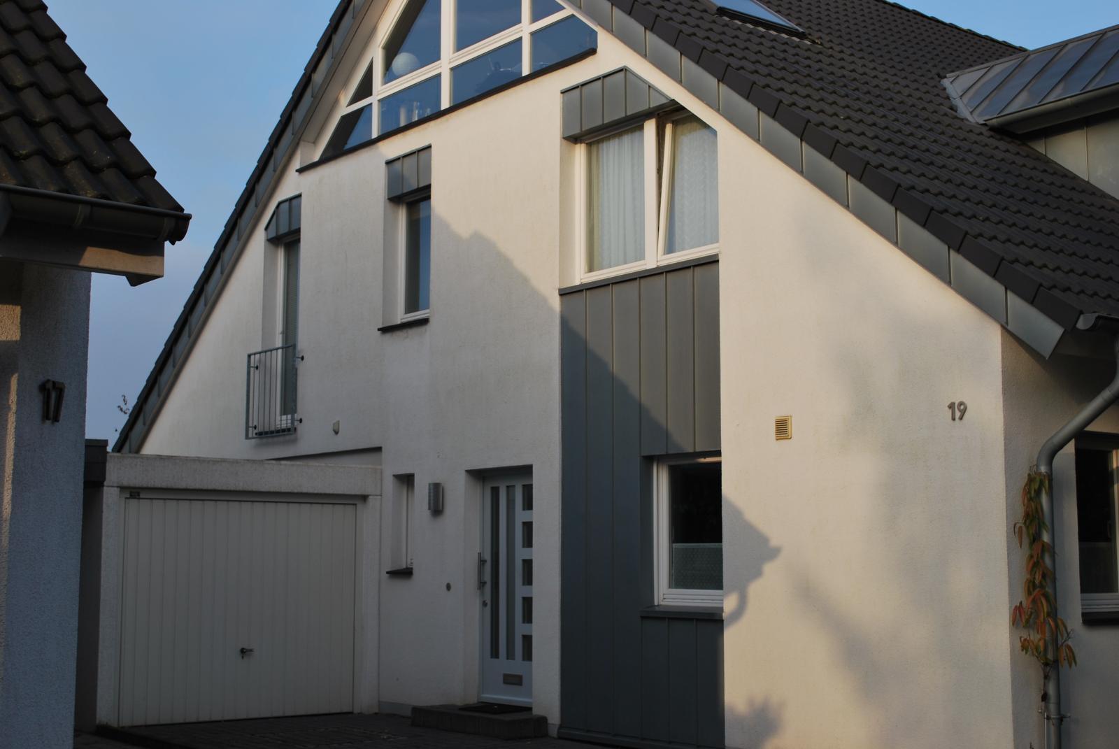 Neubau einer Doppelhaushälfte, Moers Utfort  AIP Wohnen