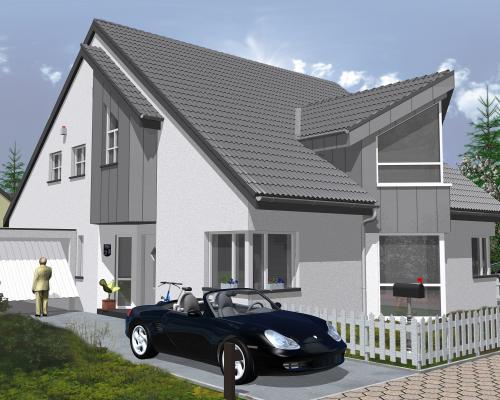 Neubau einer Doppelhaushälfte, MoersUtfort  AIP Wohnen